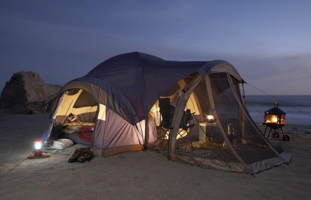 acampamento perfeito